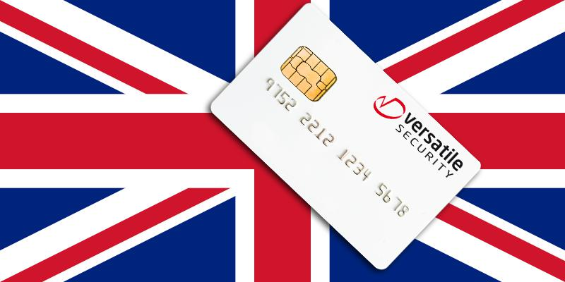 Versatile Security and smart cards in the United Kingdom