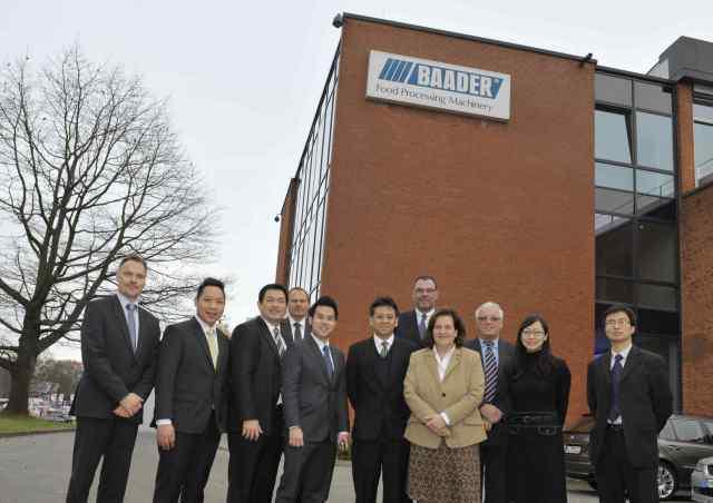 Baader Lübeck, Trempel & Associates, CP Group Thailand, German Global Trade Forum Berlin