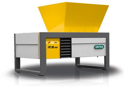 The reliable industrial shredder from UNTHA shredding technology