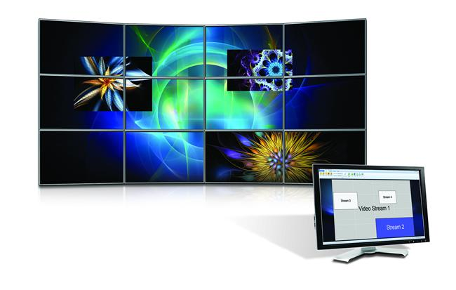 Matrox MuraControl for Windows supports a multitude of window and source management features for your Mura MPX-powered video wall.