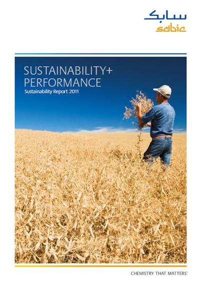 """SABIC released today its first Sustainability Report, entitled """"Sustainability+Performance."""""""