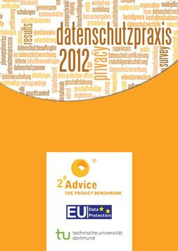 """Cover study """"Data Protection Practice 2012"""""""