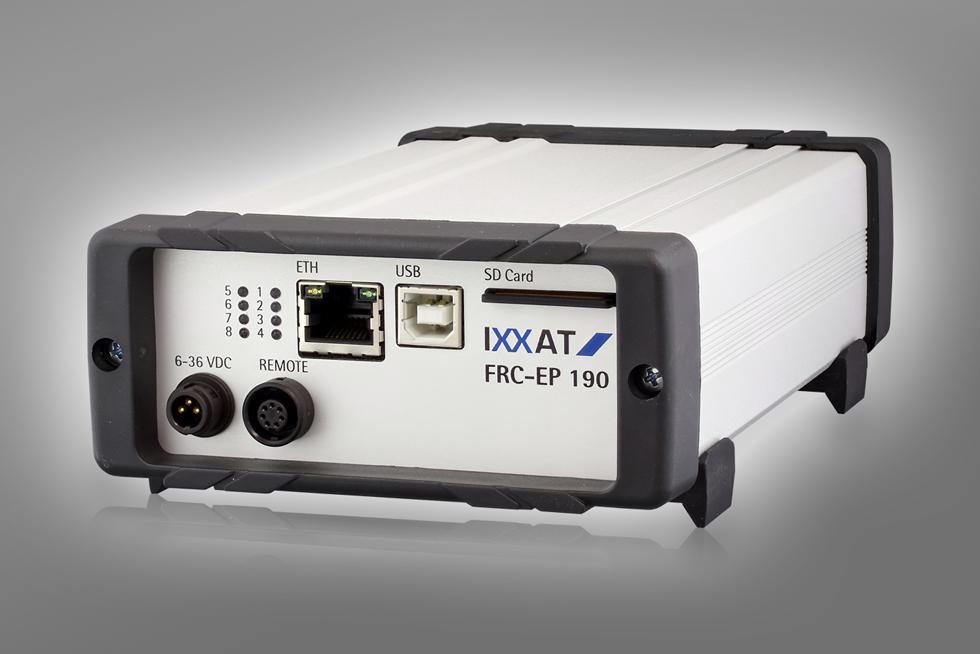 FRC-EP190, communication platform for automotive bus systems