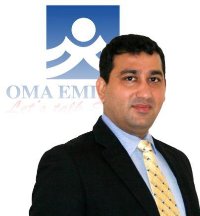 Niranj Sangal Group CEO OMA Emirates - Solution Gulf