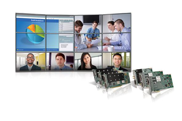 Matrox Mura MPX Series video wall controller boards are now compatible with AMX Integrated Controller systems