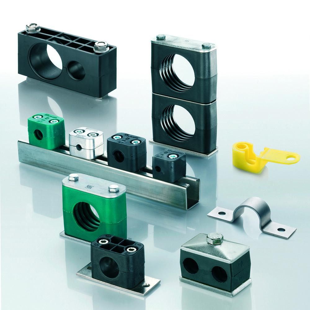 Due to the extraordinary wide product range, Stauff clamps cover almost all areas of pipe, tube and hose installation
