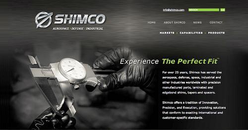 The new Shimco website