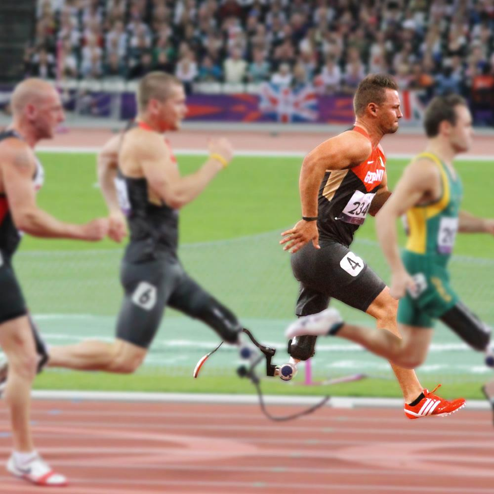 Heinrich Popow – Ottobock Paralympics Ambassador and gold medal winner in the 100 metres in London