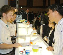 During the exhibition, visitors had the opportunity to better get to know various products at the Ottobock stand.