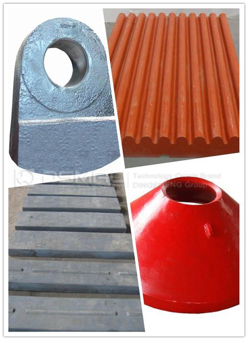 DSMAC Famous for Professional Crusher Spare Parts At Home
