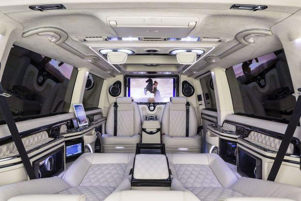 The MTM-Klassen T300 Business Luxury Van combines efficiency, power and luxury.