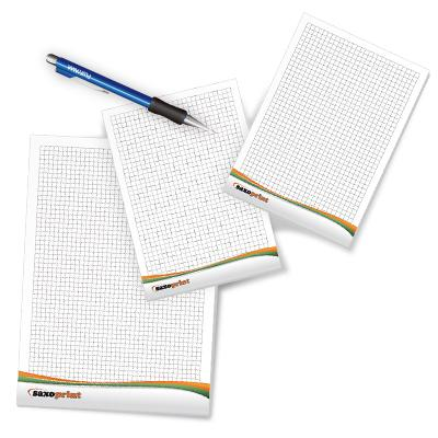 Saxoprint offers notepads