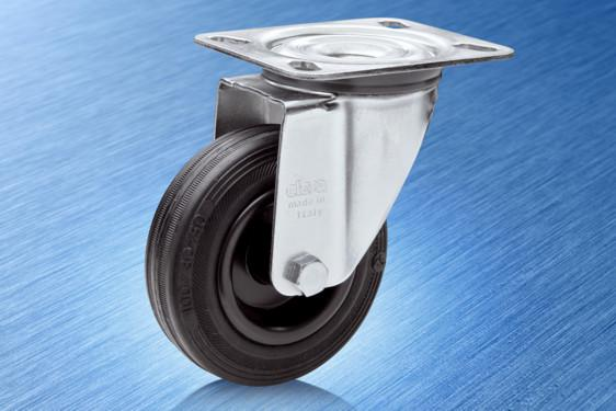 Elesa's RE.E2 – a high performance light duty castor for industrial applications
