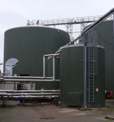 Hygienisation Tank, internal coating
