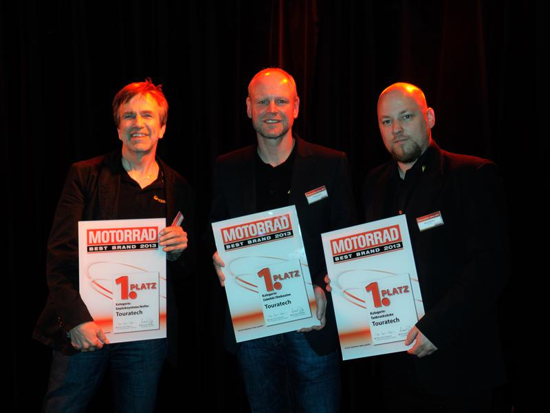 Touratech received three Best Brand awards.