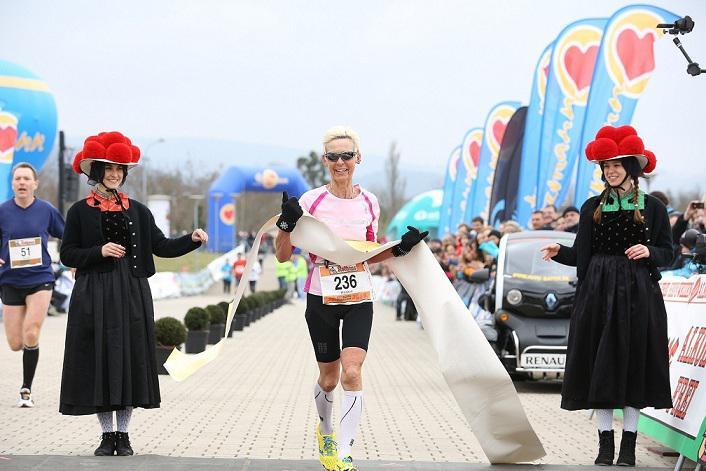 Winner Freiburg Marathon: Heidrun Besler