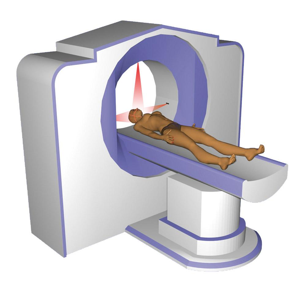 Patient positioning CT/MRI with laser