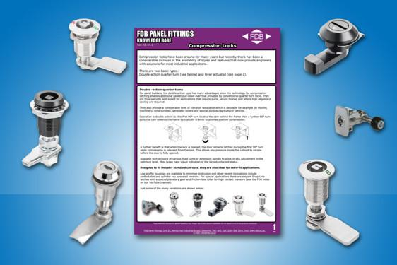 Compression Locks Knowledge Base from FDB Panel Fittings