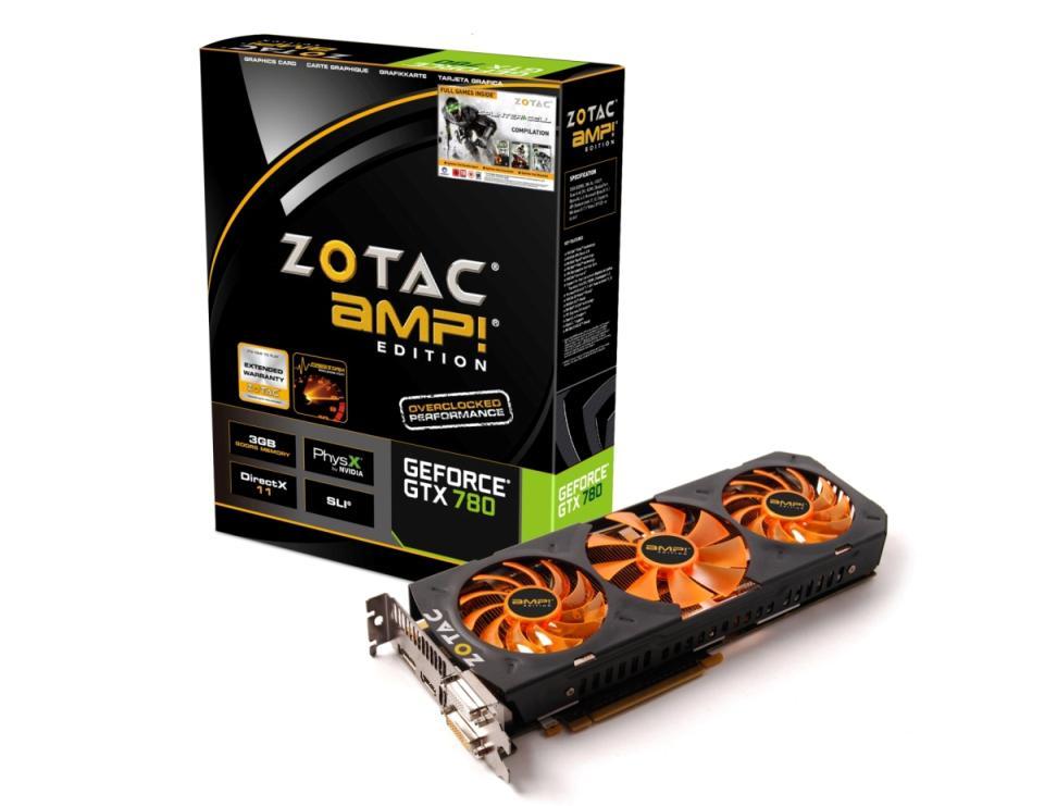 New ZOTAC GeForce GTX 780 AMP! Edition