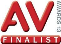 Matrox Maevex video over IP encoders/decoders named a 2013 AV Awards finalist for Systems Product of the Year.