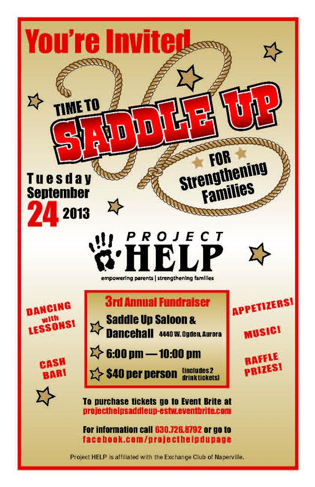 Time to Saddle Up for Strengthening Families!