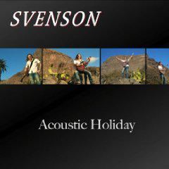 "Svenson presents his new album ""Acoustic Holiday"""