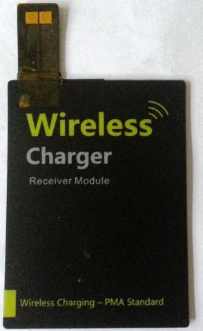 PMA Standard Powermat Compatitble Wireless Charging Thin Receiver For Samsung Galaxy S4