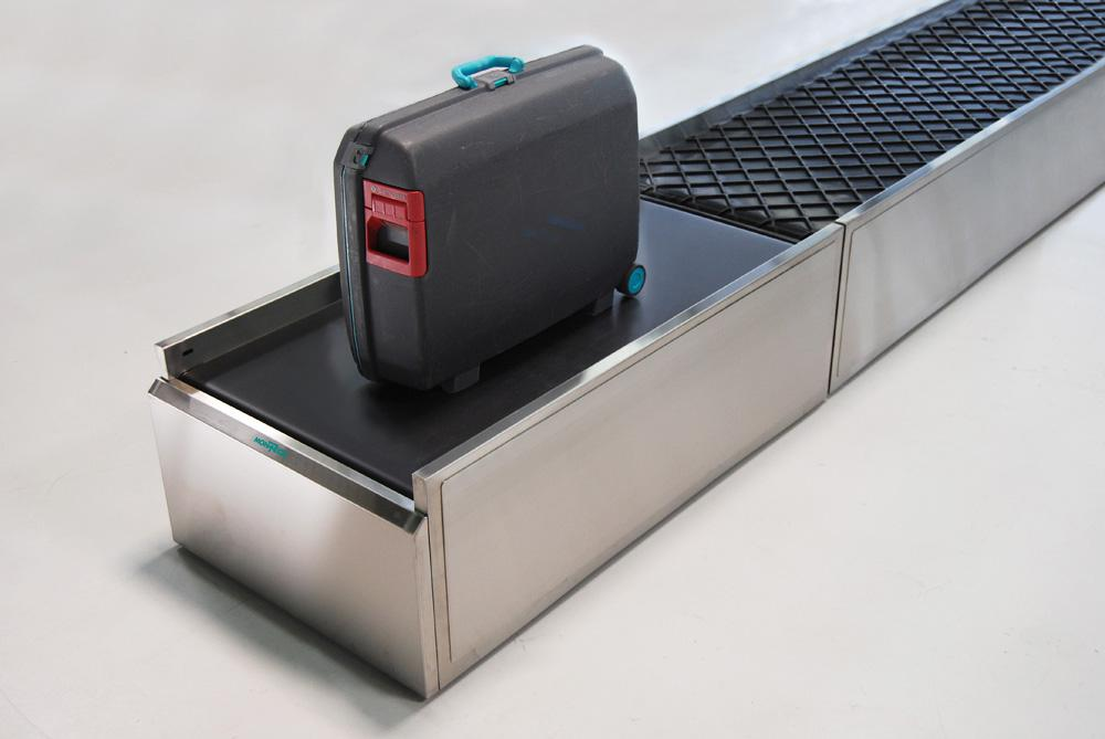 Montech conveyors for check-in counters