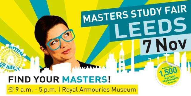 Masters Study Fair Leeds