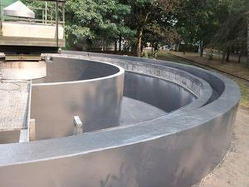 Refurbishment of waste water plant with Ceramic Polymer coatings