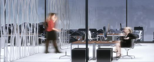 Fraunhofer IAO has launched a global user survey of lighting quality in offices. (© Zumtobel)