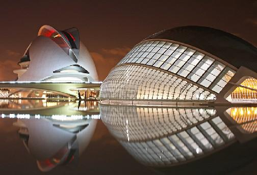 Architectural Highlights in Valencia/Spain - Photo Workshop