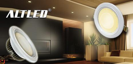 ALTLED® New Product – Luminaire-and-Light in One Downlight