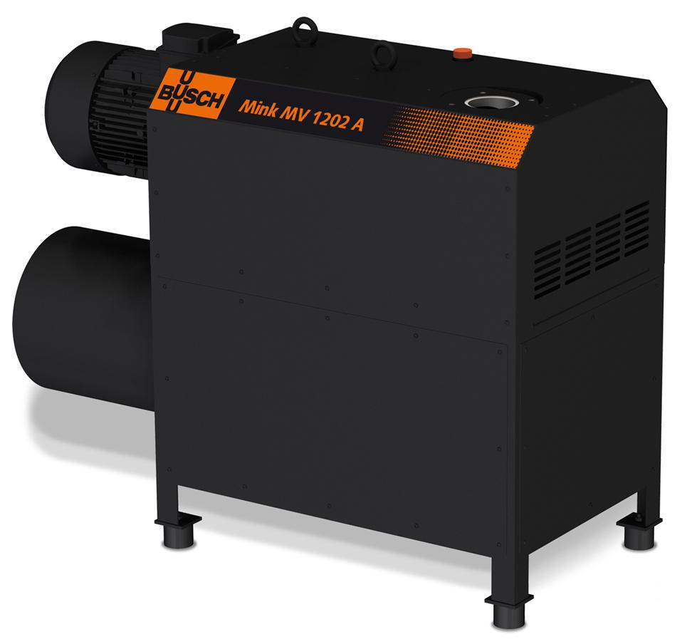 With the new Mink MV 1202 A claw vacuum pumps, pumping speeds of up to 1,000 cubic metres can be achieved.