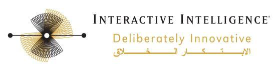 Interactive Intelligence Inc