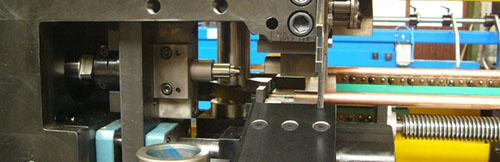 detail of cutting machine