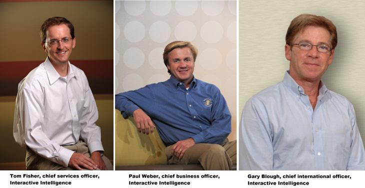 The 3 newly appointed C-Level executives at Interactive Intelligence