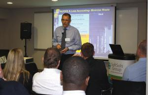 Andrew Fraser presenting at last year's event.