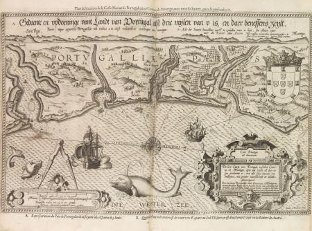 L. J. Waghenaer, Espeio de la mar sobre la naugacion Occidental. Antwerp, 1590. Estimate: EUR 85.000