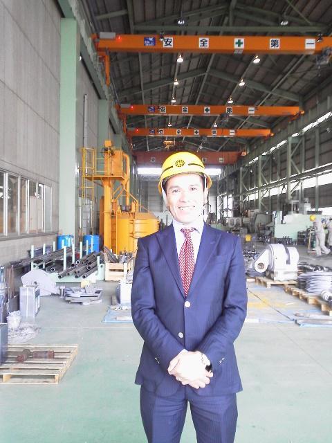 Mr. Teramoto, President, Teramoto Iron Works.