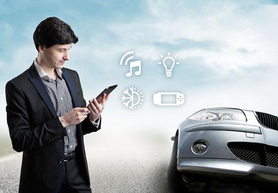 Universal Control of In-car MOST Devices through the UPnP standard