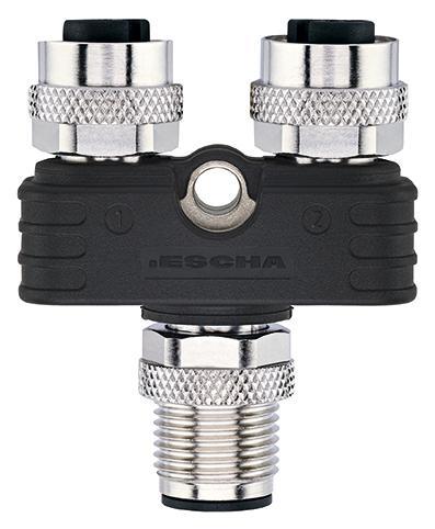 Shielded version of ESCHA Y-splitters.