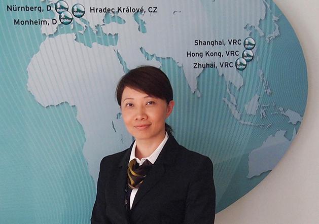 Xiaobo Jia, the new President Asia of Bühler Motor