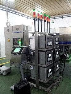 RX-SD Ink Jet print systems are incorporated directly into the Moba plant