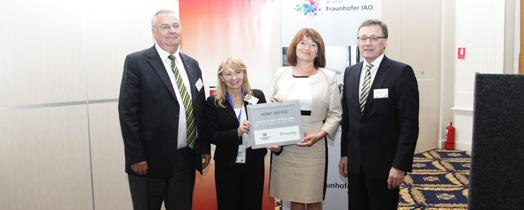 Network office opens in Cluj-Napoca. © Fraunhofer IAO, University of Cluj-Napoca (TUC-N)