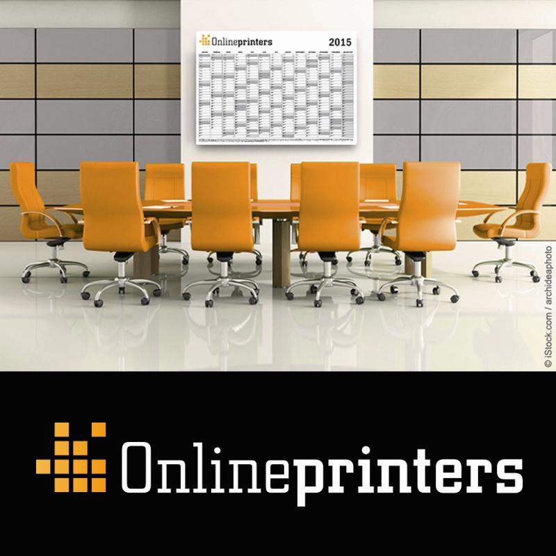 Calendar templates in the online shops of Onlineprinters