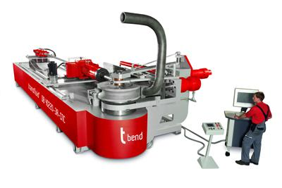 t bend: Tube bending machines from transfluid as an efficient alternative to welding.