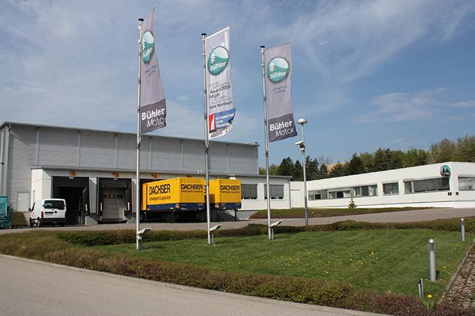 Bühler Motor winning plant Monheim