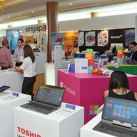 DISTREE APAC 2014 exhibition area
