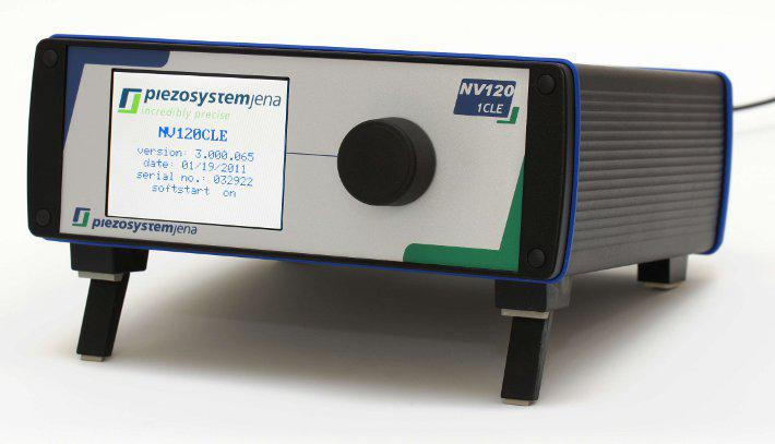 Piezo controller series NV120/1 and NV120/1 CLE for dynamic